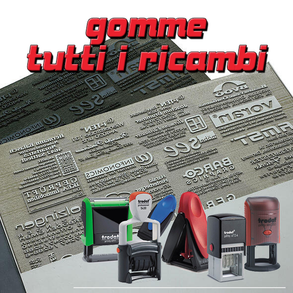 Gomme ricambio varie
