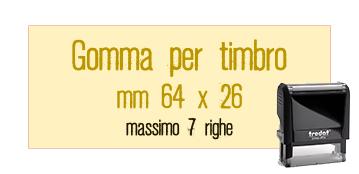 GOMMA 64X26 PER TRODAT 4914
