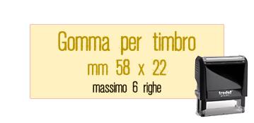 GOMMA 58X22 PER TRODAT 4913