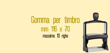 GOMMA 116X70 MM PER TRODAT 5212