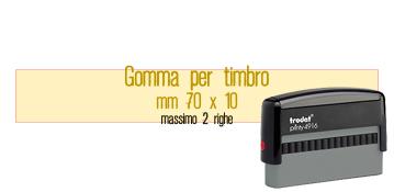 GOMMA 70X10 PER TRODAT 4916