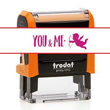 TRODAT 4912 YOU&ME