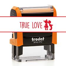 TRODAT 4912 TRUE LOVE